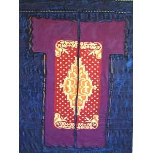 Leda Catunda (1961) - A roupa - acrílica sobre tecido - 170 x 122 cm - assinada no verso - 1988