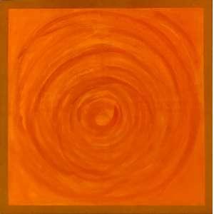 Amélia Toledo (1926 - 2017) - Sem título - acrílica sobre tela - 130 x 130 cm - assinada no verso - 2011