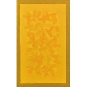 Amélia Toledo (1926 - 2017) - Campos de cor - acrílica e óleo sobre tela - 130 x 80 cm - assinada no verso - 2012