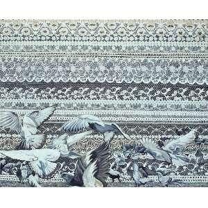 Ana Elisa Egreja (1983) - Vestido de Noiva - Série Gaiolas - óleo sobre tela - 120 x 140 cm - assinada no verso - 2007