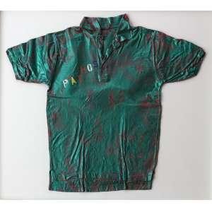 Alex Flemming (1954) - Sem título - acrílica sobre camiseta - 76 x 86 cm - assinada