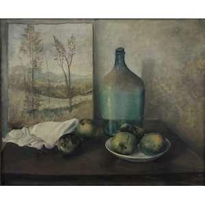 Francisco Rebolo Gonzales - (1903 - 1980) - Natureza Morta - óleo sobre tela - 64 x 77 cm - assinada canto inferior esquerdo - 1940