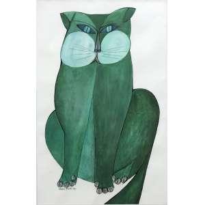 Aldemir Martins - (1922 - 2006) - Sem título - guache, nanquim e aquarela - 48 x 31 cm - assinada canto inferior esquerdo - 1967