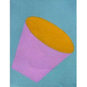 Marcelo Cipis - (1959) - Sem título - óleo sobre tela - 21 x 16 cm - assinada no verso - 1997
