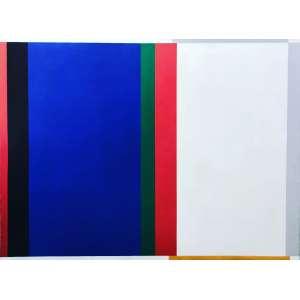 Eduardo Sued - (1925) - Sem título - óleo sobre tela - 130 x 175 cm - assinada no verso - 1986