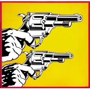 Claudio Tozzi - (1944) - Violência - acrílico sobre tela colada em madeira - 120 x 120 cm - cid e dorso - 1968