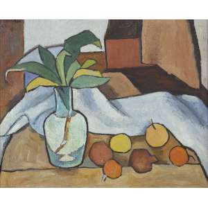 Aldo Bonadei - (1906 - 1973) - Sem título - óleo sobre tela - 45 x 55 cm - assinada canto superior esquerdo - 1968