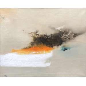Manabu Mabe - (1924 - 1997) - Sem título - óleo sobre tela - 130 x 161 cm - assinada canto inferior esquerdo - 1960