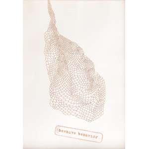 Brígida Balthar - 1959 - Beehive behavior - nanquim - 42 x 30 cm - 2013 - Obra doada ao IAC Instituto de Arte Contemporânea. O pagamento será efetuado diretamente ao IAC.