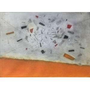 Arthur Luiz Piza - (1928 - 2017) - Espace retrouvé - gravura em metal, goiva. Edição 17/99. - 56 x 76 cm - assinada canto inferior direito - 1998 - Reprodução: Livro Arthur Luiz Piza, Cosac & Naify, 2002, página 279.
