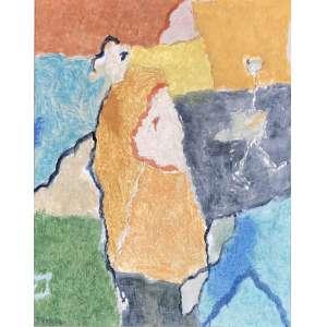 Thomaz Ianelli - (1932 - 2001) - Sem título - óleo sobre tela - 50 x 40 cm - assinada canto inferior esquerdo e verso