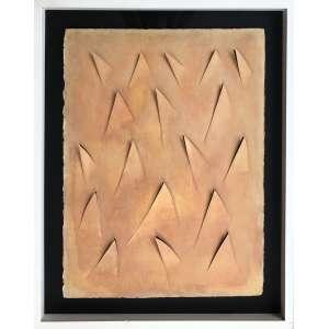 Arthur Luiz Piza - (1928 - 2017) - Sem título - corte e recorte em papel - 76 x 57 cm - assinada no verso