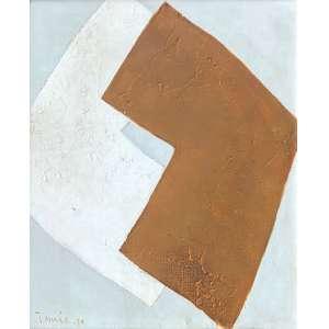 Tomie Ohtake - (1913 - 2015) - Sem título - óleo sobre tela - 37 x 30 cm - assinada canto inferior esquerdo - 1970