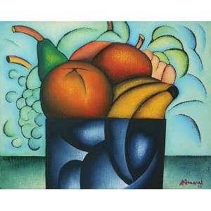 Antonio Henrique Amaral - (1935 - 2015) - Sem título - Óleo sobre tela - 61 x 76,5 cm - assinada canto inferior direito - 1982