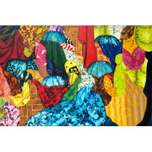 Mariana Palma - 1979 - Sem título - óleo sobre tela - 120 x 180 cm, 2009.