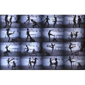 Miguel Rio Branco - 1946 - Blue tango - cibachrome - 39,5 x 59,5 cm, edição de 3 com 2PA, 1984/2009.