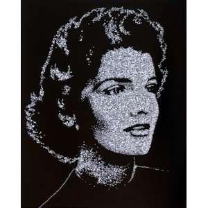 Vik Muniz - 1961 - Pictures of Diamonds: Jackie - c - print digital edição PA 4/5 - 150 x 122 cm - 2005 - Com etiqueta Galeria Nara Roesler.