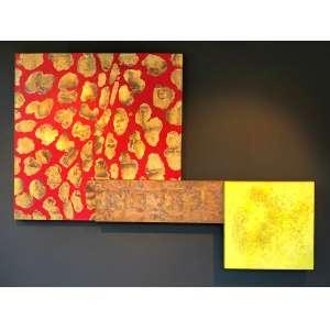 Antonio Dias - (1944 - 2018) - Sem título - óleo sobre tela - 150 x 210 cm - assinada no verso - 2005