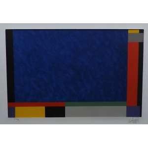 Eduardo Sued<br>Sem titulo<br>SerigrafiaP.A. - 2008 - 55 x 85 - assinado frente inferior direito