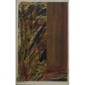 Alice Brill<br>Sem titulo<br>Técnica mista sobre papel - 25 x 16 - assinado frente inf esquerdo