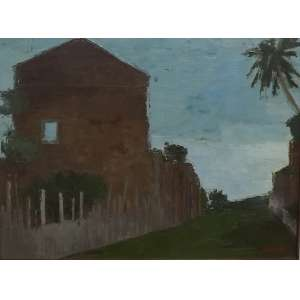 Ivan Marquetti<br>Rua da Amargura<br>Oleo sobre tela - 1981 - 50 x 67 - assinado e datado frente inf direito - assinado e datado
