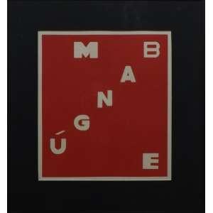 Helio Oiticica<br>Bangu Mangue<br>Serigrafia sobre papel - 1972 - 45 x 40