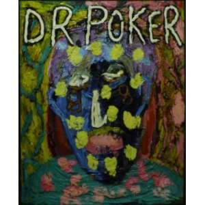Augusto Herkenhoff<br>Dr. Poker<br>Acrílica sobre tela - 1997 - 100 x 80- Assinado e datado 1997