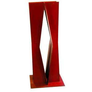 Franz Weissmann<br>Sem titulo<br>Ferro pintado em vermelho - 120 - Assinada na Base