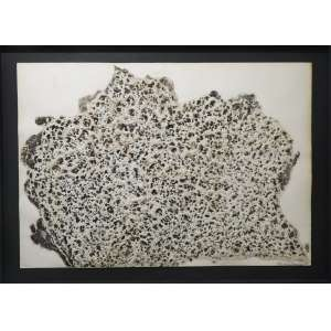 Frans Krajcberg<br>Sem título - E.A.<br>Técnica mista sobre papel (Relevo) - 1965 - 76 x 109 - Assinado e datado 1965 inferior direito