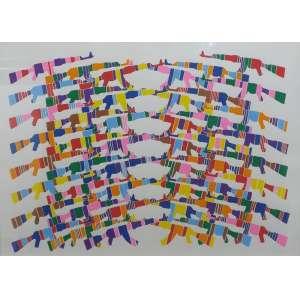 Guga Ferraz<br>Sem título<br>Desenho sobre papel - 76 x 105