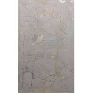 Artur Barrio<br>Sem titulo<br>tecnica mista sobre tela - 1990 - 130 x 81 - assinado e datado acima- assinado e datado