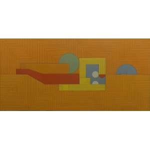 Dionísio Del Santo<br>Figura<br>Óleo sobre Tela - 1982 - 60 x 120