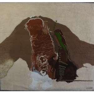 Mabe<br>Sem título<br>Tapeçaria sobre madeira - 180 x 197 - Assinado inferior direito