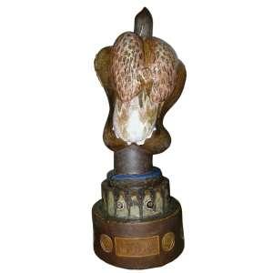 Francisco Brennand<br>Gula<br>Ceramica vitrificada - 1991 - 120 - Assinado e datado