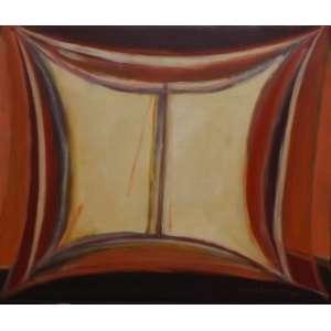 Maria Leontina<br>Sem titulo<br>Oleo sobre tela - 1975 - 46 x 55 - assinado frente inf direito