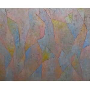 Gonçalo Ivo<br>Lencois BA<br>Oleo sobre tela - 1994 - 120 x 150