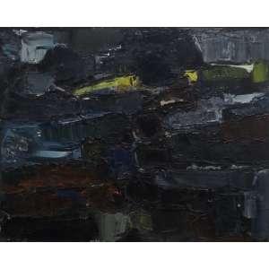 Inimá de Paula<br>Abstração<br>Acrílica sobre Tela - 1960 - 60 x 80 - Assinado e Datado
