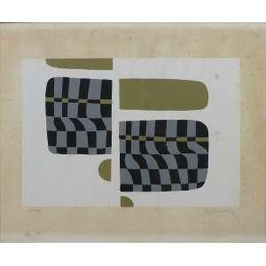 Ruben Ludolf<br>Sem titulo - 50/100<br>Serigrafia - 32 x 47 - assinado frente inferior direito