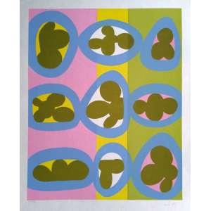 Sonia Ebling - Gravura 45/110 - Medidas 60 x 48 cm - Assinada no cid