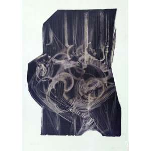 Maria Bonomi - Rara Litogravura 198159/60 - Medidas 100 x 70 cm - acid