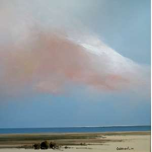 Fernando Calderari - Marinha - Óleo sobre tela - Medidas 60 x 60 cm - Assinado no cid - 1996