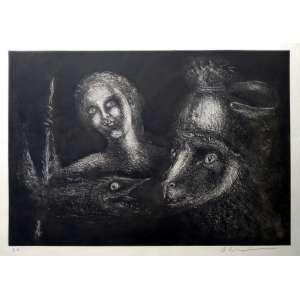 MARCELO GRASSMANN - Gravura em metal - P.A - Medida 45 x 56 cm - Assinada no cid