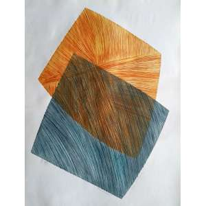 Vera Salamanca - Calcografia e Lito - PE 2/5 - Medidas 50 x 70 cm - Assinada no cid