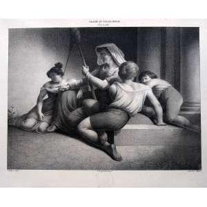 Galerie du Palais Royal - Lith. de C. Motte - Medidas - 21 x 26 cm