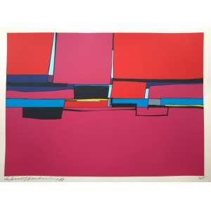 Silvio Oppenheim - 1987 - P.I. - Litogravura - Acid - Medidas 45 x 63 cm - assinado