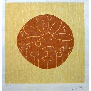 Sonia Ebling - Serigrafia P.I - Edição 1/3 - Medidas 38 x 37 cm - acid