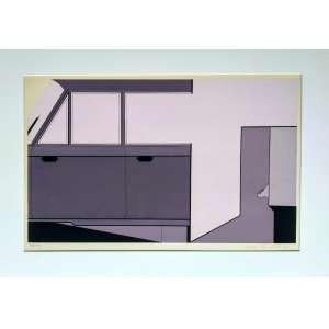 Wanda Pimentel - Serigrafia - Edição 27/100 - Ano 1975 - Medidas 40 x 55 cm - acid
