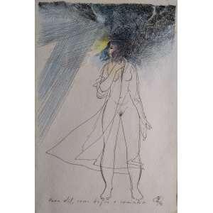 Floriano Teixeira - Nanquim - Medidas 26 x 17 cm - Assinado e datado de 1988 - Ex coleção Wylma Sedys