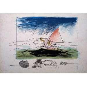 Floriano Teixeira - Gravura em metal 21/100 - Medidas 35 x 50 cm - acid - 1987 - Ex coleção Wylma Sedys