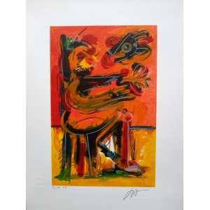 Ivald Granato - Serigrafia fundação - 86/100 - Medidas 30 x 20 cm